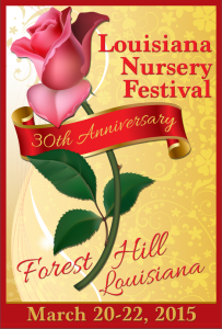 Louisiana Nursery Festival 30th Annual Poster